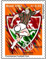 O selo comemorativo e que em votação pela internet, no site da Empresa de Correios e Telégrafos, foi considerado o mais belo lançado em 2002