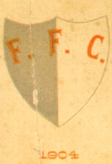 O primeiro escudo do Fluminense Football Club em documento de 1904