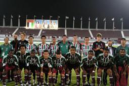 Time campeão nos Emirados Árabes