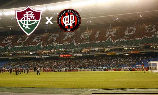 Resultado de imagem para Fluminense x Atlético-PR